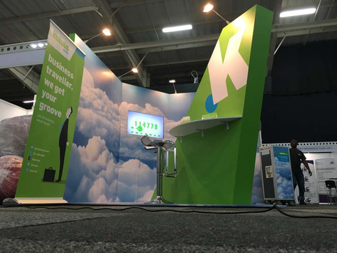 Kulula 'Networking at 35 000 feet is much more fun' Exhibition Stand