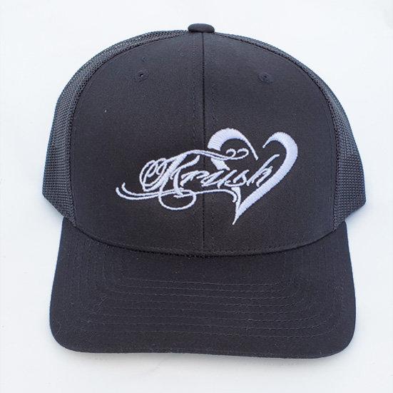 Krush Black Trucker Hat