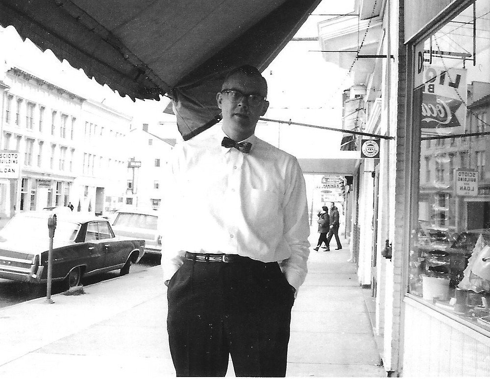 Ted Foster in Downtown Circleville c.1967