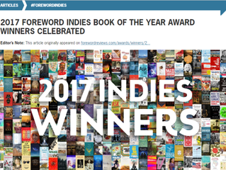 WNBU Wins 2017 INDIES Book Award!