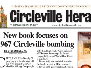 Front Page of the Circleville Herald!