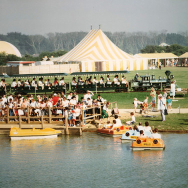 Pedalos, trains and more