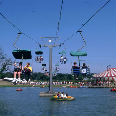 Chairlift, Pedalos and Superhuman Circus