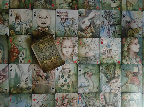 Limited Edition Alice in Wonderland Playing Cards