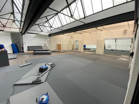 GREAT NEWS! Our Lower Dojo is nearly ready...and will be fully back in action from Monday 17th May!