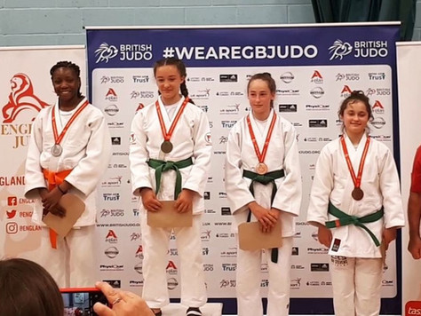 Our judokas secure medals at England Closed Champs & places in  England Regional Development Squad!!