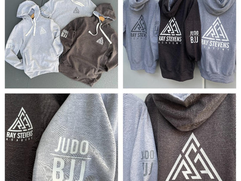 New stock. Our popular adult hoodies are available from reception... grab yours before they go!