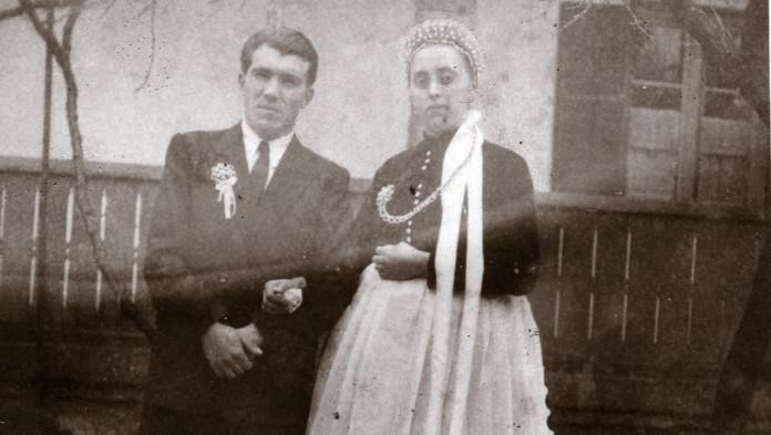 Gárdai Ferenc és Solti Rozina esküvői képe