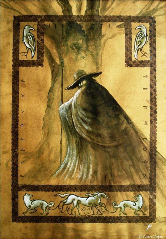 Odin by YvonneVetjens. (printerest)
