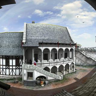 Az egykori vár 3D köntösben