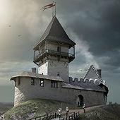 Középkor - solyári vár