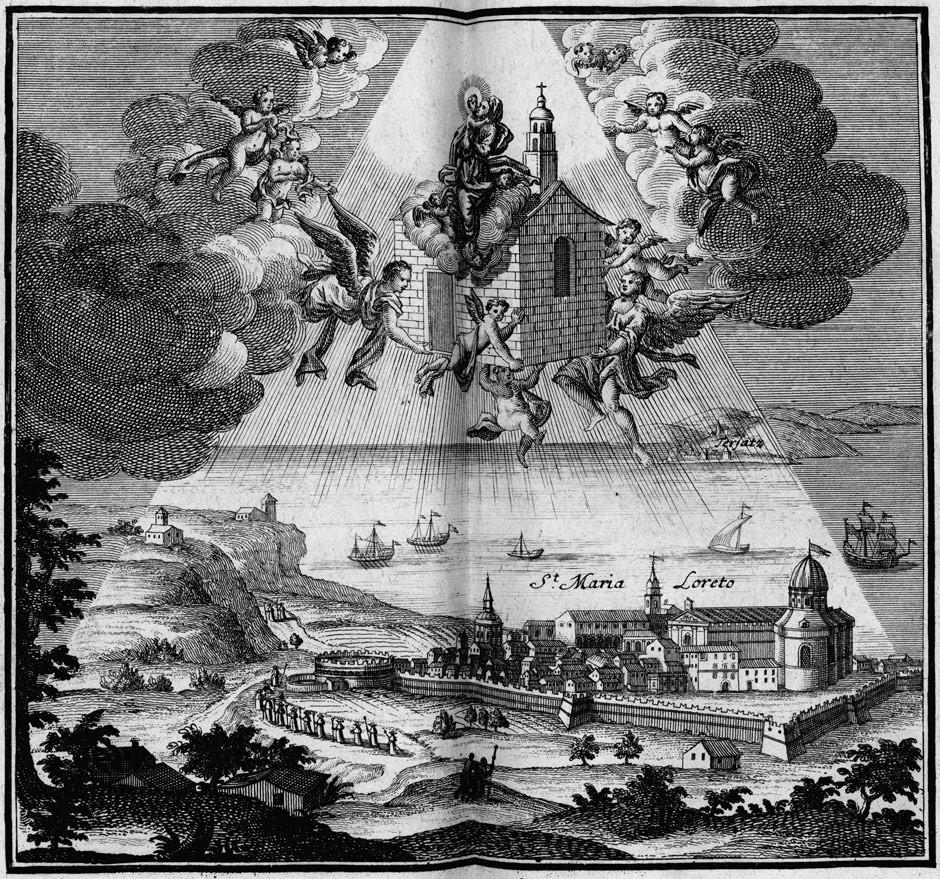 """A Santa Casa, a """"Szent Ház"""" jóval Lourdes, Fatima és Medjugorje előtt Európa legfontosabb Mária-kegyhelye volt."""