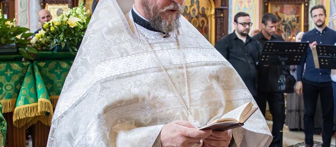 Хиротония во иерея диакона Андрея Коровина
