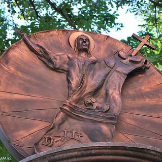 Rumán Sándor köztéri szobrai Solymáron