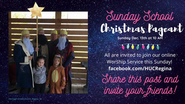Sunday School Pageant Is Coming!
