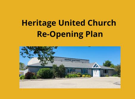 Building Re-Opening Plan