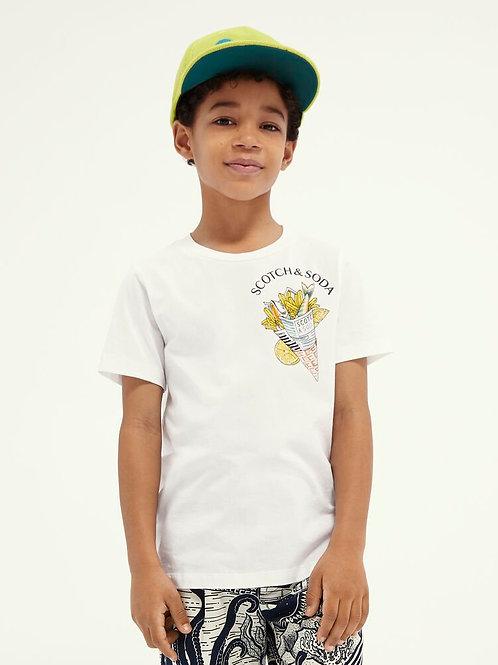 """""""Fish&Chips"""" Scotch & Soda T-shirt Jungs"""