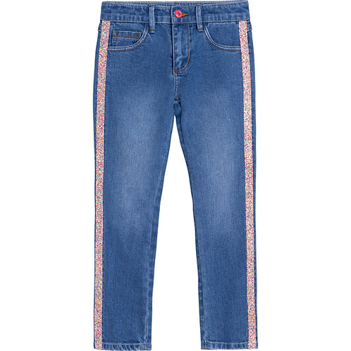 """Stripe"" Skinny Jeans Billieblush"