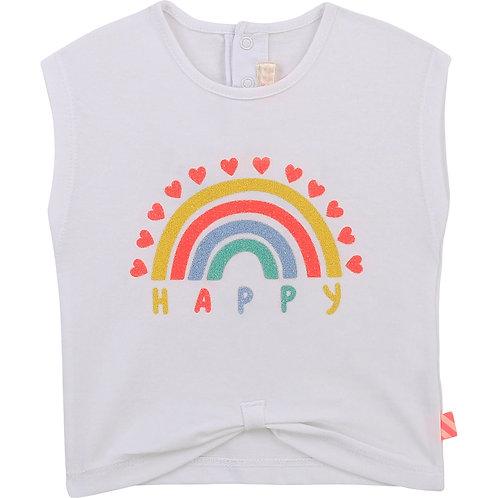 """Happy Girl"" T-Shirt Billieblush"