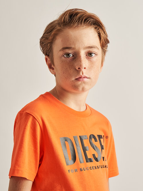 """Logo"" Jungs T-Shirt Diesel"