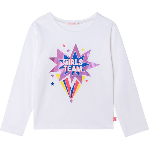 """Girls Team"" Longsleeve Billieblush"