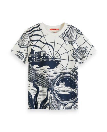 """Waterworld"" T-shirt Scotch&Soda Jungs"