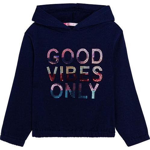 """""""Vibes"""" Sweatshirt Billieblush"""