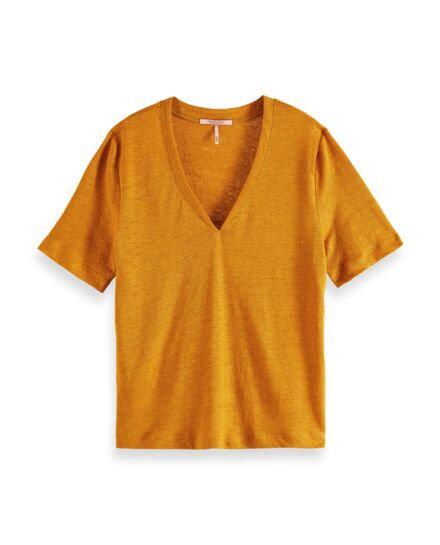 """Mustard"" T-shirt Scotch&Soda Damen"