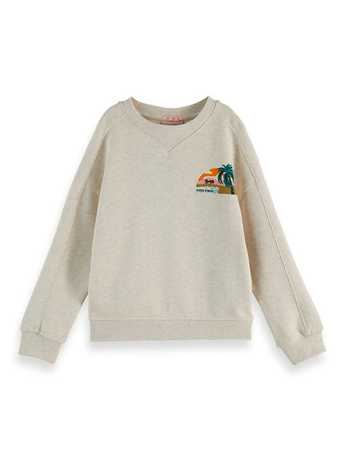 """Sunset"" Scotch & Soda Mädchen Sweat"
