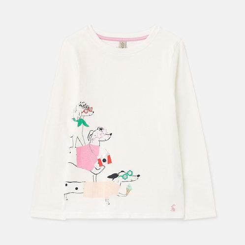 """""""Bessie"""" Mädchen T-shirt Joules"""