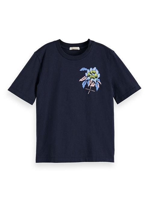 """Grafik"" Mädchen T-Shirt Scotch & Soda"