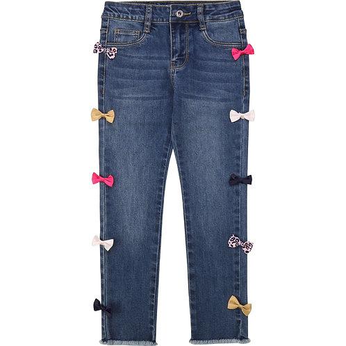 """Bow"" Skinny Jeans Billieblush"