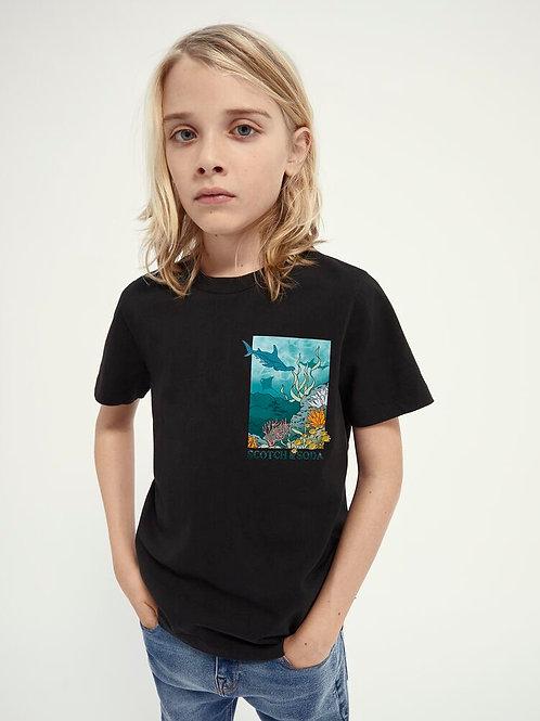 """Sea"" Jungs T-Shirt Scotch & Soda"