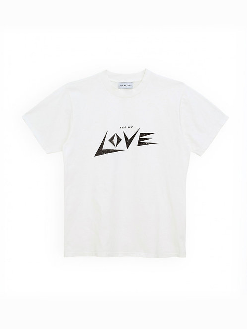 """LOVE"" T-Shirt Womans YMLK"