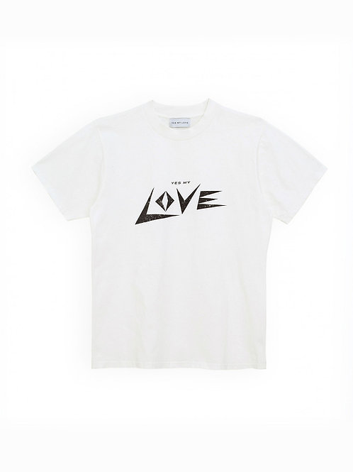 """LOVE"" T-Shirt Womans YMLK"