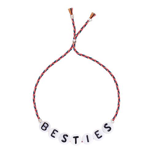 """""""Glass Letter"""" Bracelet Sorbet Island"""
