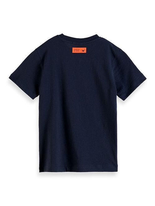"""Back Wave"" Jungs T-Shirt Scotch & Soda"