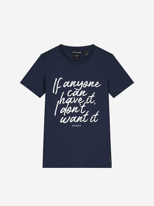"""Anyone"" T-Shirt Nik & Nik"