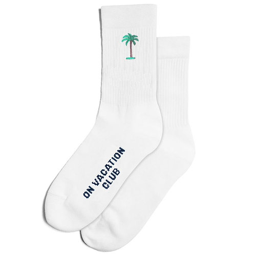 """Palms"" Tennis Socken On Vacation Club"
