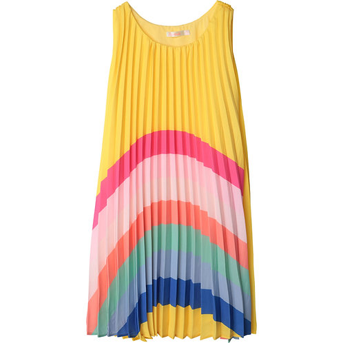 """Yellow Rainbow"" Kleid Billieblush Mädchen"