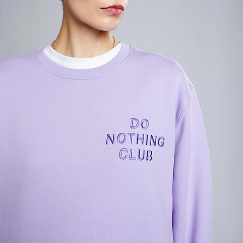 """Do Nothing Club"" Sweatshirt On Vacation Club"