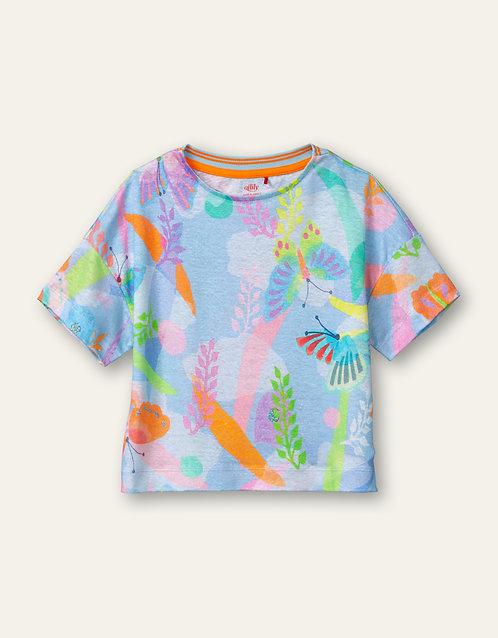 """Tischa blue"" Oilily T-shirt Mädchen"
