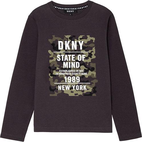 """Camo Print"""" Jungs T-shirt DKNY"""