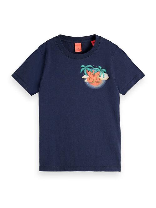 """Plam"" Jungs T-Shirt Scotch & Soda"