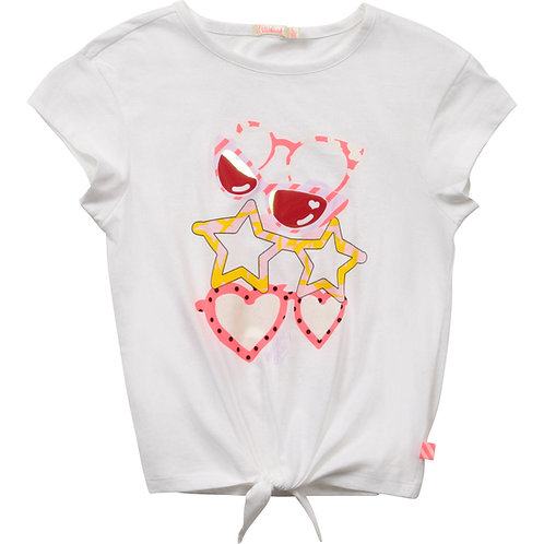 """""""Glasses"""" T-Shirt Billieblush Mädchen"""