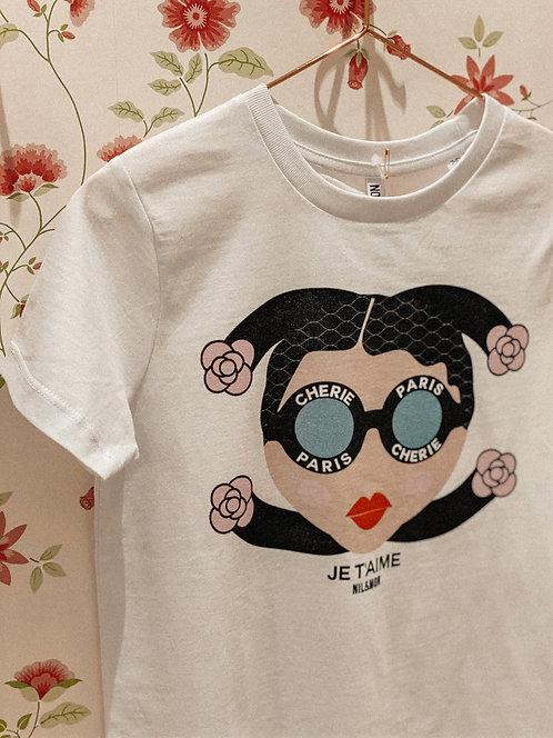 """"""" je taime"""" T-Shirt Kids Nil&Mon"""