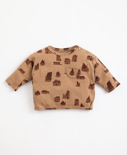 """""""Paper"""" Baby T-shirt PLAY UP"""
