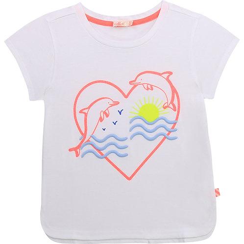 """""""Dolphin Heart"""" T-Shirt Billieblush Mädchen"""