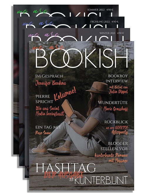 WE ARE BOOKISH - ABO - ab Herbst 2021