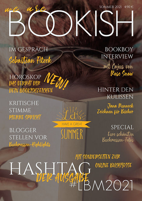WE ARE BOOKISH - AUSGABE SOMMER 21